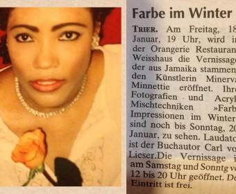 Ausschnitt Wochenspiegel Trier